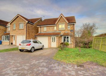 Thumbnail 3 bed detached house for sale in Chestnut Way, Widdrington, Morpeth