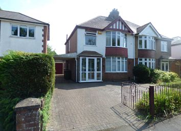 Thumbnail 3 bed semi-detached house for sale in St. Johns Avenue, Rugby