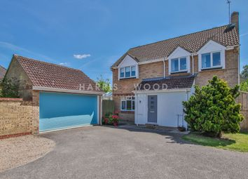 Thumbnail 4 bed detached house for sale in Jefferson Close, Colchester