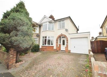 Thumbnail 3 bed semi-detached house for sale in Felixstowe Road, Ipswich