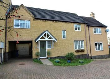 Thumbnail 5 bed link-detached house for sale in Baines Coney, Haverhill, Suffolk