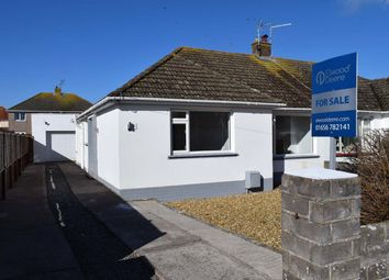 Thumbnail 3 bed semi-detached bungalow for sale in Connaught Close, Porthcawl