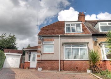 Thumbnail 2 bed semi-detached house for sale in The Close, West Denton, Newcastle Upon Tyne