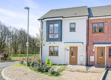 Thumbnail 3 bed end terrace house for sale in Cutting Drive, Basingstoke