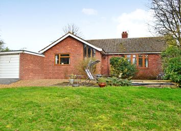 Thumbnail 3 bed detached bungalow for sale in Trunch Hill, Denton, Harleston