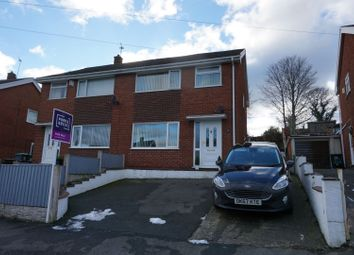 Thumbnail 3 bedroom semi-detached house for sale in Beech Street, Wrexham