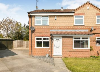 Thumbnail 2 bed semi-detached house for sale in Plover Way, Morley, Leeds