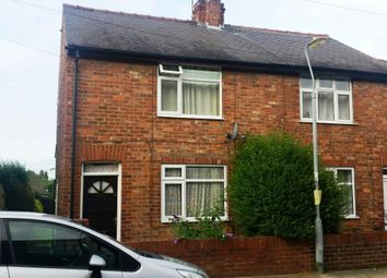 Thumbnail 2 bed semi-detached house to rent in Poplar Street, Off Poppleton Rd. York