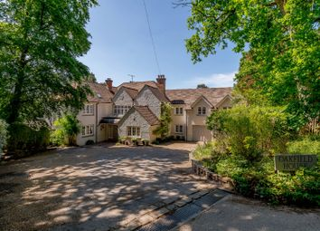 Thumbnail 6 bed detached house for sale in Beech Avenue, Lower Bourne, Farnham, Surrey