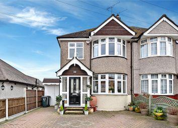 Thumbnail 4 bed semi-detached house for sale in Warren Road, Dartford, Kent