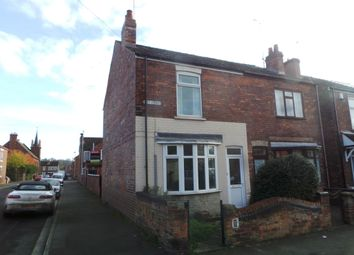Thumbnail 2 bed end terrace house to rent in Grey Street, Gainsborough