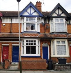Thumbnail 2 bed terraced house to rent in Shaftsbury Avenue, Leicester