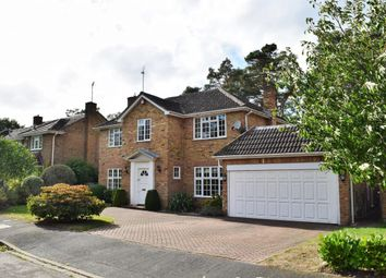 Thumbnail 4 bed detached house for sale in Hillsborough Park, Camberley