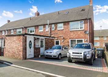 Thumbnail 4 bed terraced house for sale in Lumley Gardens, Burnopfield, Newcastle Upon Tyne