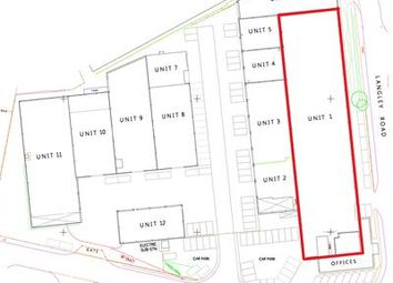 Thumbnail Light industrial to let in Unit 1, Clayton Business Centre, Langley Road, Burscough Industrial Estate, Ormskirk