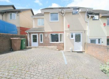 Thumbnail 4 bed semi-detached house for sale in Lavinia Drive, Plympton, Plymouth