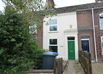 Thumbnail 2 bed terraced house for sale in Wingfield Road, Norwich, Norfolk