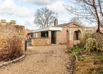 Thumbnail 4 bedroom detached bungalow for sale in The Walled Garden, New Road, North Runcton, King's Lynn