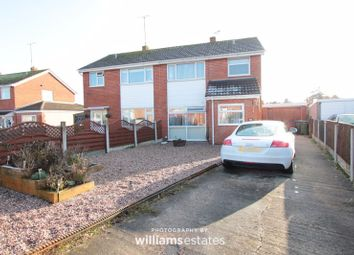 Thumbnail 3 bed semi-detached house for sale in Heol Hendre, Rhuddlan, Rhyl