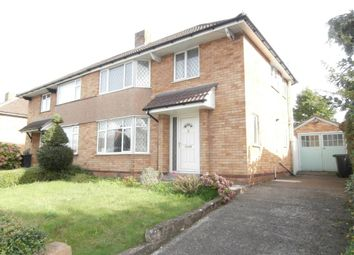 Thumbnail 3 bed semi-detached house to rent in Belmont Road, Hereford