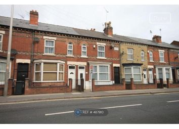 Thumbnail 3 bed terraced house to rent in Nottingham Road, Derby