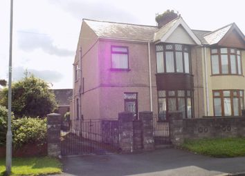 Thumbnail 3 bed property to rent in Morfa Road, Margam, Port Talbot