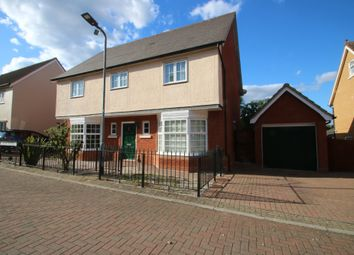 Thumbnail 4 bed detached house for sale in Wood Avenue, Hockley