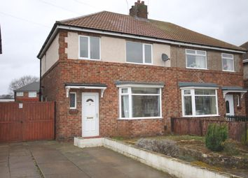 Thumbnail 3 bed semi-detached house to rent in Cornwall Road, Ashby, Scunthorpe