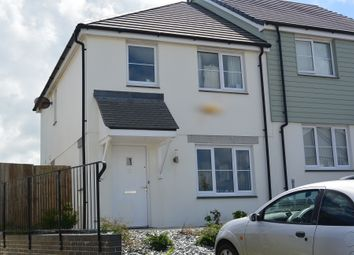 Thumbnail 3 bed terraced house to rent in Tregea Close, Portreath, Cornwall