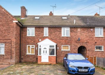 Thumbnail 4 bed terraced house for sale in Queens Walk, Ruislip, Middlesex