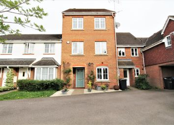Thumbnail 4 bed town house for sale in Cornflower Way, Hatfield