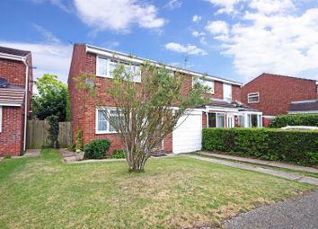 Thumbnail 3 bed semi-detached house for sale in Marks Way, Girton, Cambridge
