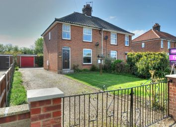 Thumbnail 3 bed semi-detached house for sale in Bradfield Road, North Walsham