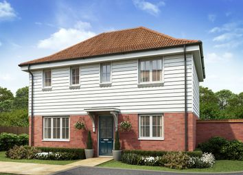 "Thumbnail 3 bedroom semi-detached house for sale in ""The Clayton"" at Market View, Dorman Avenue South, Aylesham, Canterbury"