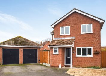 Thumbnail 4 bed detached house for sale in Temple Grange, Werrington, Peterborough