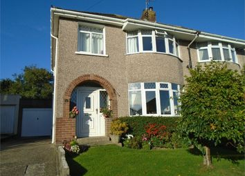 Thumbnail 3 bed semi-detached house for sale in Parcau Avenue, Bridgend, Mid Glamorgan