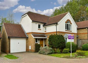 Thumbnail 3 bed detached house for sale in St Elizabeth Drive, Epsom, Surrey