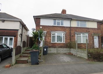 Thumbnail 3 bed semi-detached house for sale in Dulwich Road, Kingstanding, Birmingham