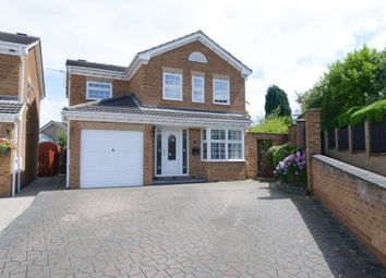 Thumbnail 4 bed detached house for sale in Challands Way, Hasland, Chesterfield