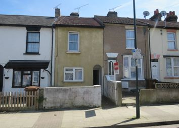 Thumbnail 2 bedroom terraced house for sale in Trafalgar Street, Gillingham