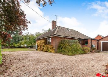 Thumbnail 3 bed bungalow for sale in Church Road, Griston, Thetford