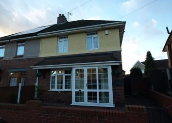 Thumbnail 3 bed semi-detached house for sale in Molyneux Road, Dudley