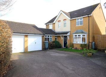 Thumbnail 4 bed detached house for sale in Francis Groves Close, Bedford