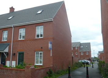 Thumbnail 3 bed town house to rent in Richard Moon Street, Crewe, Cheshire
