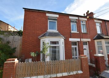 Thumbnail 3 bed end terrace house for sale in Dovedale Street, Barry