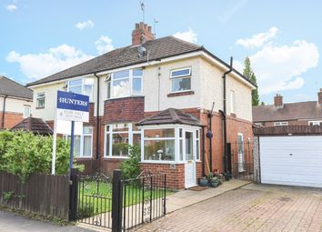 Thumbnail 3 bed semi-detached house for sale in Brookside, Collingham, Wetherby