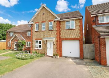 Thumbnail 4 bedroom detached house for sale in Wisteria Close, Rushden