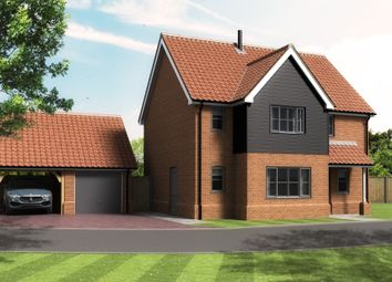 Thumbnail 4 bed detached house for sale in Bickers Hill, Laxfield, Woodbridge