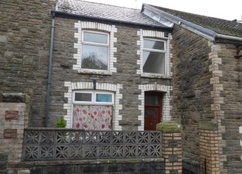 Thumbnail 2 bed terraced house for sale in High Street, Abertillery, Blaenau Gwent.