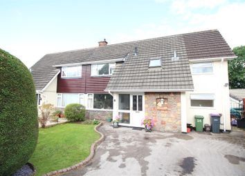 Thumbnail 3 bed semi-detached house for sale in Ashford Close South, Croesyceiliog, Cwmbran